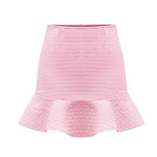 Ruffle Hem Mini Skirt 1049722559