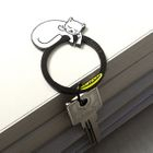 Metal Key Ring 1596