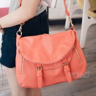 Buckled Flap Cross Bag