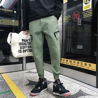 Plain Pocketed Jogger Pants