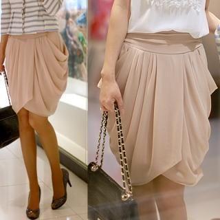 Buy ODDmolly Draped Wrap Skirt 1022827229
