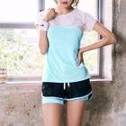 Set: Short-Sleeve Sport T-Shirt + Shorts 1596