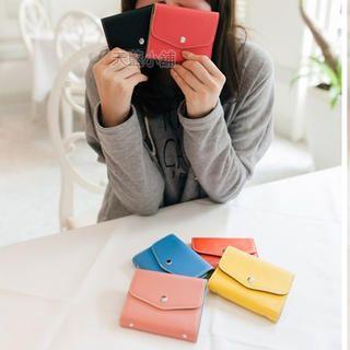 Snap-Button Card Holder