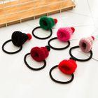 Hat-Accent Hair Tie/Hair Clip 1596
