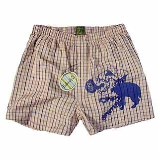 Picture of Fraternity Printed Plaid Boxeer 1023006528 (Fraternity, Mens Innerwear, Hong Kong)