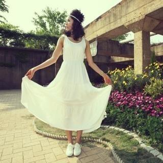Buy BBon-J Sleeveless Tiered Dress 1022756336