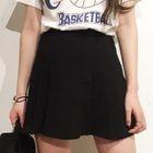 A-Line Pleated Mini Skirt 1596