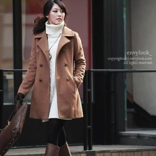 Buy Envy Look Double-Breasted Coat 1021701483
