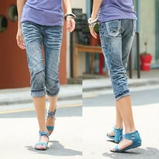 Buy Jean Stone Cropped Jeans 1022752155