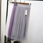 Accordion Mesh Skirt 1596
