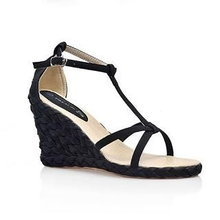 Picture of Smoothie T-Bar Wedge Sandals 1022580350 (Sandals, Smoothie Shoes, China Shoes, Womens Shoes, Womens Sandals)