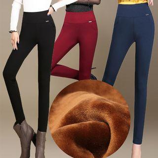 High Waist Fleece Lined Leggings 1054074173