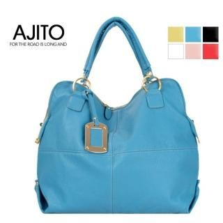 Buy AJITO Faux-Leather Tote 1022562150