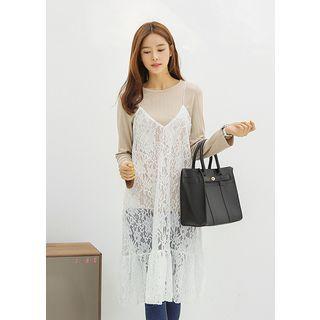Spaghetti Strap Lace Dress 1057725983