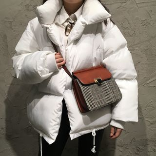 Check Crossbody Bag