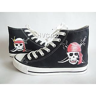 Hvbao Skull High Top Sneakers