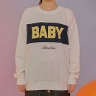 Color-Block Lettering Sweatshirt 1596
