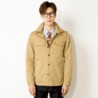 Flap-Pocket Jacket