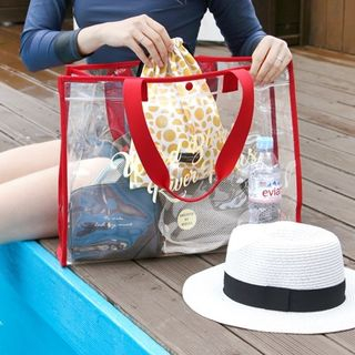 "Iconic"" Series Clear Shopper Bag 1061412444"