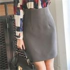 High-Waist Pencil Skirt 1596