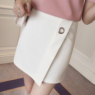 Plain A-Line Skirt 1049712606