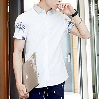 Image of Print Short Sleeve Shirt
