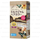 Mandom - Lucido-L Creamy Milk Hair Color (Classic Tea) 1 set 1596