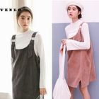 Corduroy Pinafore Dress 1596