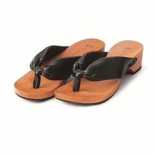 Picture of Mizutori Wood Sandals 1019588134 (Sandals, Mizutori Shoes, Japan Shoes, Womens Shoes, Womens Sandals)