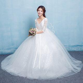 Maternity | Wedding | Crystal | Dress | Ball