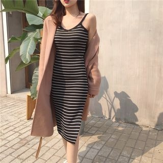 Ribbed Bodycon Dress 1059622695