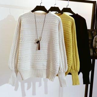 Rib Knit Sweater 1063933014