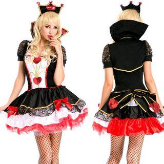 Red Queen Halloween Party Costume