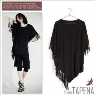 Buy TAPENA Fringed Tee Shirt 1022872423