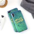 Printed Case for iPhone 6 / 6 Plus / 7 / 7 Plus / 8 / 8 Plus / X 1596