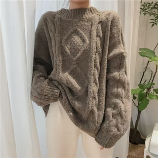 Rib Knit Sweater 1063306774