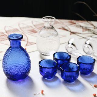 Set of 5: Sake Bottle + Cup 1063463848