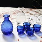 Set of 5: Sake Bottle + Cup 1596