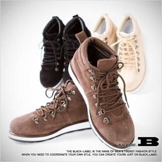 Picture of Style Impact Faux-Suede Boots 1021457422 (Boots, Style Impact Shoes, Korea Shoes, Mens Shoes, Mens Boots)