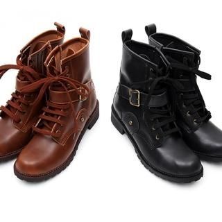 Buy REDOPIN Lace-Up Boots 1023031137