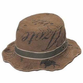Buy GRACE Printed Bucket Hat Khaki – One Size 1022190273