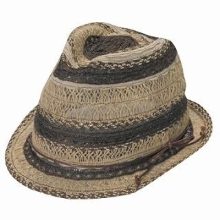 Buy GRACE Sheer Fedora Brown – One Size 1022190373
