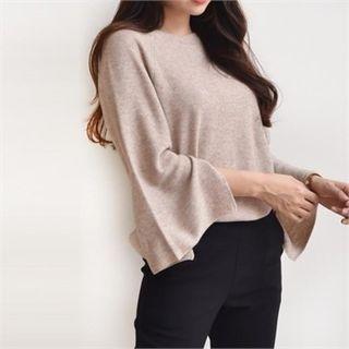 Slit-Sleeve Knit Top 1064583884