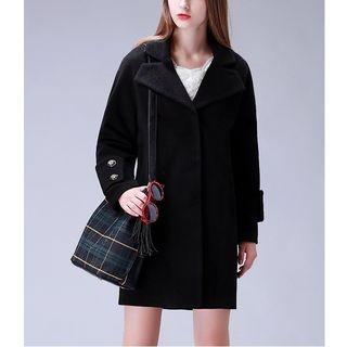 Notch Lapel Coat 1054838922