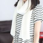 Ribbed Knit Scarf 1596