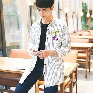 Striped Long Shirt 1062114798