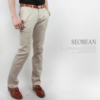 Buy SEOBEAN Flap-Pocket Back Straight-Cut Pants 1022464396