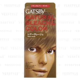 Mandom - Gatsby Natural Bleach & Color (Sheer Grege) 1 set 1040912503