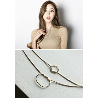 Knotted Layered Necklace 1053687162