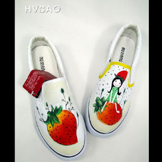 Buy HVBAO  Strawberry Fairy  Slip-Ons 1020298278